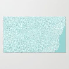 - = Pattern Theory = - Rug by Natalie Smith - $28.00