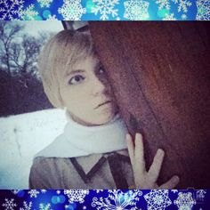Russia hiding from Belarus for some reason.       #russia #russiacosplay #cosplay #cosplayer #winter #otaku #hetalia #hetaliacosplay #genderfluid #anime #cosplaymakeup #makeup #makeupaddict #makeupartist #gay #ivanbraginsky #ivancosplay #hetaliarussia #aph #aphrussia #aphcosplay #kawaii #kawaiicosplay #cosplaycontest