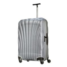 Someone Someone Someone come travel with me and buy me this wonderful suitcase! Samsonite Cosmolite FL Spinner 75 (silver)