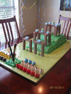 My Angry Birds cake!!  :)