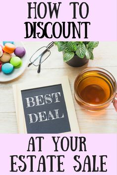 Great tips on discounting items!
