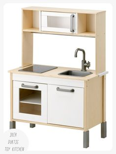 I am in love with the IKEA DUKTIG children's mini-kitchen -  you'd be hard pushed to find an alternative in this price range that competes.