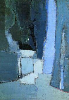 Nicolas de Staël Le parc de Sceaux, 1952 Huile sur toile, 162 x 114 cm