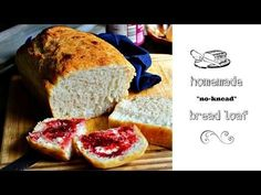 SANDRA'S EASY COOKING: Homemade Bread Loaf