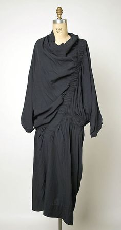 Dress Comme des Garçons (Japanese, founded 1969) Designer: Rei Kawakubo (Japanese, born 1942) Date: ca. 1983 Culture: Japanese Medium: rayon
