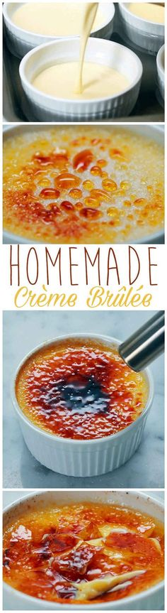 This Crème Brûlée Is Literally Food Porn Goals. Making for my love this Valentine's Day