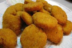 http://newestrecipes.com Baked Chicken Nuggets #snacks -  #nuggets -  food
