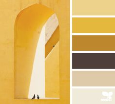 yellow, gold, brown, cream