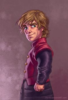 """""""Tyrion Lannister is Pleased"""" by ~The-Ez on deviantART. (the-ez.deviantart.com) #GameofThrones #Tyrion Lannister"""
