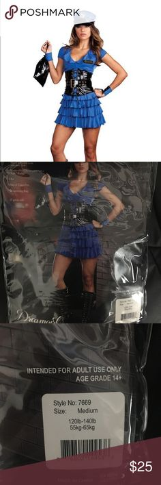 Dreamgirl Sexy Cop Late Night Patrol Costume M Awesome Costume by Dreamgirl New in package Size M all accessories listed on package are included Dreamgirl Other