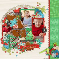 Used the following from the Sweet Shoppe: Template: Trio Pack 33 - Christmas Treats by Cindy Schneider Believe in Magic: Christmas Treats by Amber Shaw and Studio Flergs