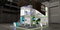 Exhibition Design 134 on Behance Exhibition Stall, Exhibition Stand Design, Trade Show, Behance, Display Ideas, Gallery, Check, Floors, Second Best