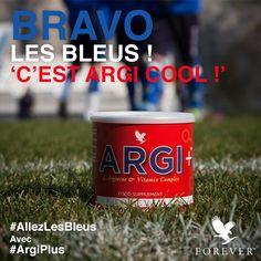 Forever Argi+™ procure vitalité, force et endurance pour un accompagnement efficace pendant et après un effort extrême. #ArgiPlus #AllezLesBleus