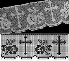 Μύρια βελονάκια και πίνακες ζωγραφικής: αποκλείονται από CROCHET με τις θρησκευτικές ΛΟΓΟΥΣ