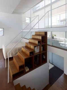 /staircase storage/