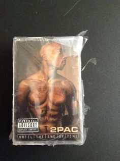 Until the End of Time by 2Pac New 2 Cassettes gansta Rap Hip Hop Tupac Shakur