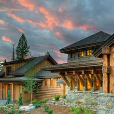 Traditional Exterior Mountain Architecture Design, Pictures, Remodel, Decor and Ideas - page 2