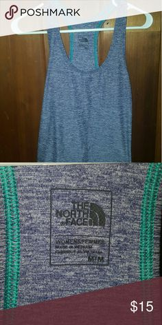The North Face tank Purple and teal racer back tank The North Face Tops Tank Tops