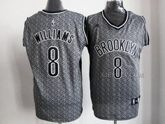 http://www.xjersey.com/brooklyn-nets-8-williams-grey-snow-jerseys.html BROOKLYN NETS 8 WILLIAMS GREY SNOW JERSEYS Only $34.00 , Free Shipping!