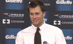 Tom Brady Press Conference Today   Tom Brady Postgame Press Conference