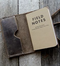 Leather Notebook Cover | Gifts Cards & Stationery | Stock & Barrel | Scoutmob Shoppe | Product Detail