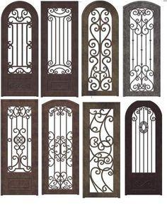 Resultado de imagen para puertas de herreria sencillas y bonitas