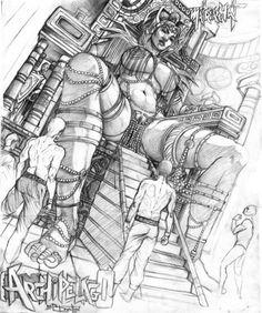 sketch Boris Dyatlov Cool Sketches, Cool Drawings, Drawing Sketches, Character Art, Character Design, Black And White Comics, Fantasy Illustration, Erotic Art, Female Art