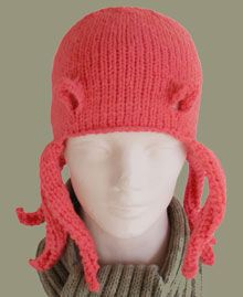Sperm and egg knit hat pattern