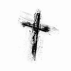 The Last 7 Words of Jesus: A Lenten Meditation - grunge-cross-tattoo-sample - Body Art Tattoos, New Tattoos, Small Tattoos, Sleeve Tattoos, Tattoos For Guys, Cool Tattoos, Tatoos, Phoenix Tattoos, Wing Tattoos
