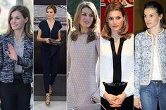 """La reina de España es sin duda un claro ejemplo de que la elegancia no es cuestión de dinero. En repetidas ocasiones, Letizia apuesta por marcas """"low cost"""" españolas para hacer patria de la moda nacional y dar una vez más una lección de estilo."""