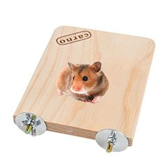 Wooden Shelf Perch Toy for Syrian Hamster Gerbil Rat Chinchillas Guinea Pig Squirrel Small Animal Toy Parrot Parakeet Cage Toy
