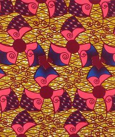 African Wax Print: Air Con