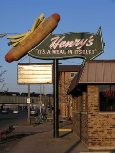 Henry's Hotdogs - formerly on Route 66 - Cicero, Illinois