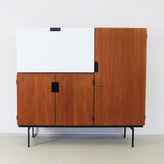 CU01 cabinet from the sixties by Cees Braakman for Pastoe