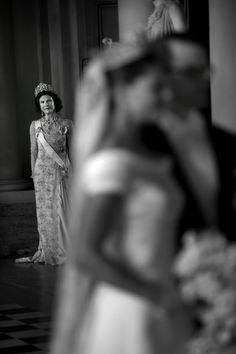 Queen Silvia at the wedding of Princess Victoria and Prince Daniel. I want a picture of my mom like this