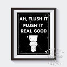 Ah het spoelen spoel het echte goede digitale badkamer