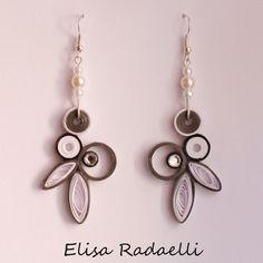 Paper Quilled Earrings                                                                                                                                                                                 Plus