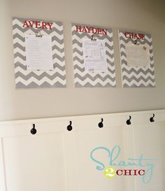 """Brag Boards"" would be great for Daycare kiddos most recent art masterpiece too! :)"