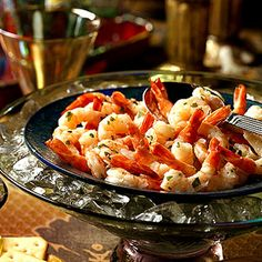 Tequila Marinated Shrimp -  To keep these tongue-tingling shrimp well-chilled during a party, place them in a bowl nestled inside a larger bowl of ice.