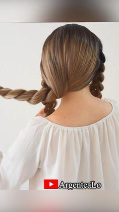 Hairdo For Long Hair, Long Thin Hair, Long Hair Video, Easy Hairstyles For Long Hair, Summer Hairstyles, Hairstyles For A Party, Easy Updos For Medium Hair, Work Hairstyles, Bride Hairstyles