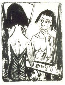 Erich Heckel - Before the Mirror