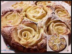 TORTA DI MELE - soffice e profumata Sweets Recipes, Apple Recipes, Brunch Recipes, Cake Recipes, Breakfast Recipes, Cooking Recipes, Sweets Cake, Cupcake Cakes, Apple Deserts