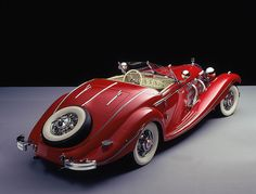 Mercedes-Benz 500K Spezial Roadster, 1935. What a beauty!                                                                                                                                                                                 Mehr