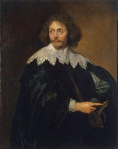 Anthony van Dyck, portrait paintings - Portrait of Sir Thomas Chaloner
