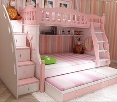 Love this bed for a little girls room <3