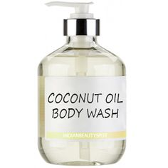 Cleanse your skin while leaving it silky, smooth and completely moisturized using a homemade natural coconut oil body wash.