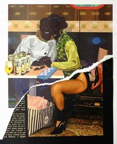 1000+ images about THE ART N U: Kerry James Marshall on Pinterest ...