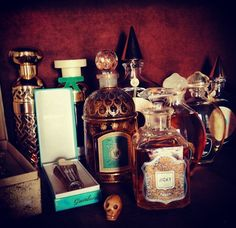 Guerlain perfumes collection