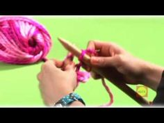 You-tube video teaching the basics of knitting, especially for kids!