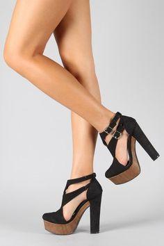 Qupid Gossip-22 Strappy Platform Sandal $32